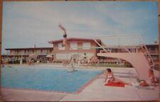 1960s Chrome Postcard: Trojan Motor Inn - Troy, Ohio OH