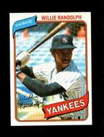 1980 TOPPS #460 WILLIE RANDOLPH EXMT YANKEES 131762