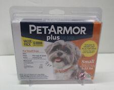 PetArmor Plus Dog Flea and Tick Small Dog 5-22 lbs Squeeze on Treatment