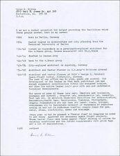 HEINZ H. HILTEN - BIOGRAPHY SIGNED