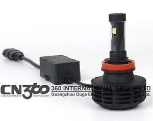 KIT MTEC LED H7 6G 6000 LUMEN // LUCE BIANCA GHIACCIO 6000K // CANBUS NO ERRORI