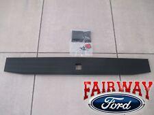 17 thru 18 Super Duty OEM Ford Tailgate Flexible Step Trim Molding w/ Button NEW