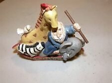 2099) Noah's Arc Resin Figurine All Creatures Great & Small Midwest Of Cannon F