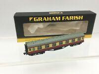 Graham Farish 374-841B N Gauge BR Red/Cream Stanier Open 3rd Coach M9459M