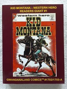 Kid Montana: Western Hero Readers Giant vol. 1 (Gwandanaland Comics, 2019) TPB