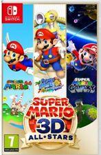 Super Mario 3D All-Stars (Nintendo Switch, 2020) NEUF SOUS BLISTER