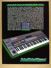 1985 Roland JX-8P Synthesizer Synth vintage print Ad
