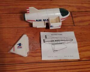 Vintage U.S. Mail Airplane Stamp Dispenser JSNY  Miniature w/tiny Drawer