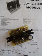 EBB 50 Modulo Amplificatore 20W RMS Audio Disco PA Amplificatore Potenza Amp