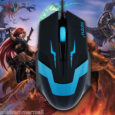 Optical 1600 DPI USB 2.0 Wired 3D Professional Athletics Gaming Mouse for PC