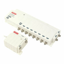 Labgear LDL208LP 8 Way Line Power Digilink Amplifier Kit 2 Inputs 8 Outputs TV