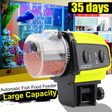Automatic Auto Fish Food Feeder Timer For Aquarium Tank Pond Feeding Flake
