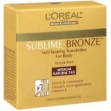 Loreal Sublime Sunless Tanning Toweletts Medium