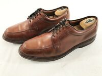 Allen Edmonds Wilbert Mens Split Toe Oxford Comfort Shoes Leather Brown Size 11D