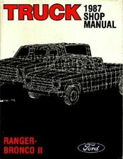 Manuales de reparación y servicios Ranger Ford