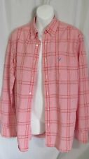 American Eagle Men's Long Sleeve Button Down Check Shirt size M Lot #51