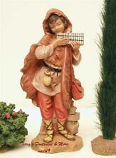 "Fontanini Depose Italy 7.5"" Eli Playing Hand Organ Nativity Village Figure 52896"