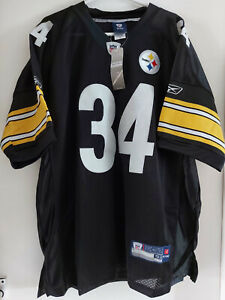 Pittsburgh Steelers Mendenhall no 34 NFL Home jersey size 52 (XL)