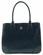 NWT Tory Burch Robinson East/West Tote Handbag Bag, Blue
