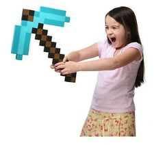 "Minecraft Pickaxe Blue Diamond - Full Size 18""x12"" Foam"