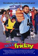 Next Friday Movie POSTER 27 x 40 Ice Cube, Tommy (Tiny) Lister, A  USA, NEW