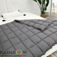 Weighted Blanket (15lbs). Gravity blanket With Washable Cover and  Carry Bag