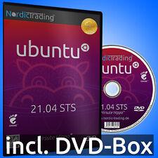 NEU: Ubuntu 21.04 STS DVD Linux Betriebssystem Markenware