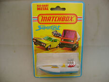 1976 MATCHBOX LESNEY SUPERFAST #5 SEAFIRE DRAG BOAT MOC