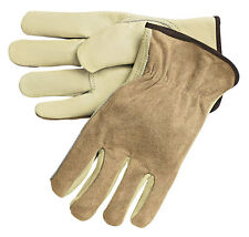 MEMPHIS GLOVE Size XL LEATHER DRIVER'S INDUSTRIAL GRADE GLOVES,3205XL  (12 Pair)