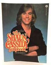 Shaun Cassidy Scrapbook Illustrated Biography 1978 Paperback Book Hardy Boys