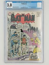 Batman 121! First appearance of Mr. Zero, later Mr. Freeze. CGC certified 3.0.