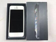 Apple iPhone 5 16Gb WiFi + Unlocked 4G Lte Smartphone Silver In Box