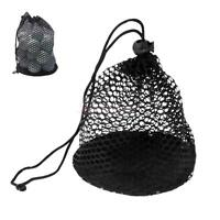 Nylon Mesh Nets Bag Golf Ball Tennis 50 Balls Carrying Pouch Storage Holder