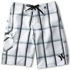 Hurley Shorts (Kids Ages 12+) - White - Size 30 - Free Shipping...!