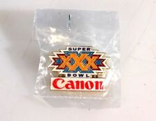 ORIGINAL CANON SUPER BOWL XXX PIN