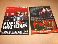 EDDIE & THE HOT RODS !!!!!!!!!!!!!!!!!RARE FRENCH FLYER