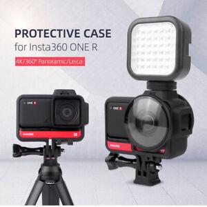 Für Insta360 ONE R Insta Schutzrahmen Action Kamera Dual Cold Shoe Extra Layer
