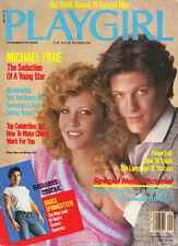 PLAYGIRL September 1984 BRUCE SPRINGSTEEN MIchael Pare STEVE RALLY