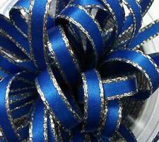 Tessuti e stoffe blu raso per hobby creativi