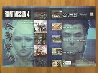 Front Mission 4 PS2 2004 Vintage Print Ad/Poster Official Game Room Art Decor