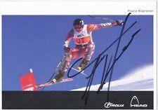 Franz Klammer  Österreich Ski Alpin Autogrammkarte orig. signiert 397215