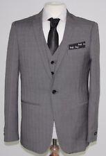 Men's Harry Brown, 3pc Grey Check suit (40R)... sample 1141