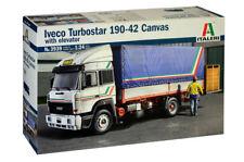 Italeri Iveco Turbostar 190-42 Canvas with elevator LKW Truck 1:24 Bausatz 3939