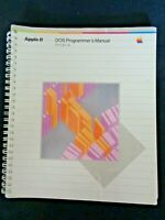 Vintage APPLE Computer II DOS PROGRAMMER'S User MANUAL FOR II, II+, IIe Guide