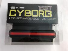 NEW Blitzu Cyborg 168T USB Rechargeable Tail Light Super Bright Water Resistant