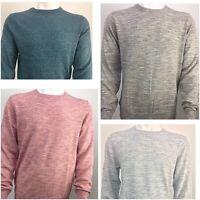 New Men's ex-Gap Crew Neck Long Sleeve Sweater in 4 Color