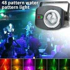 U`King Wasserwelle DJ Laser Projektor Bühnenlicht LED Show Disco Party Christmas