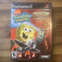 SpongeBob Squarepants Creature from the Krusty Krab PlayStation 2 Game PS2 CIB