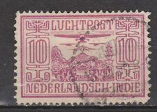 Nederlands Indie Indonesie 6 used Netherlands Indies luchtpost airmail 1928