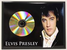 ELVIS PRESLEY A Limited Edition 24kt Gold CD Poster Art Display Free Shipping